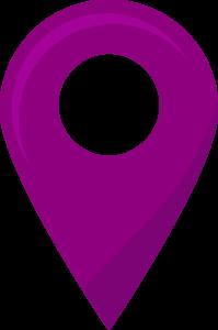Es un icono de localización enlace a google map